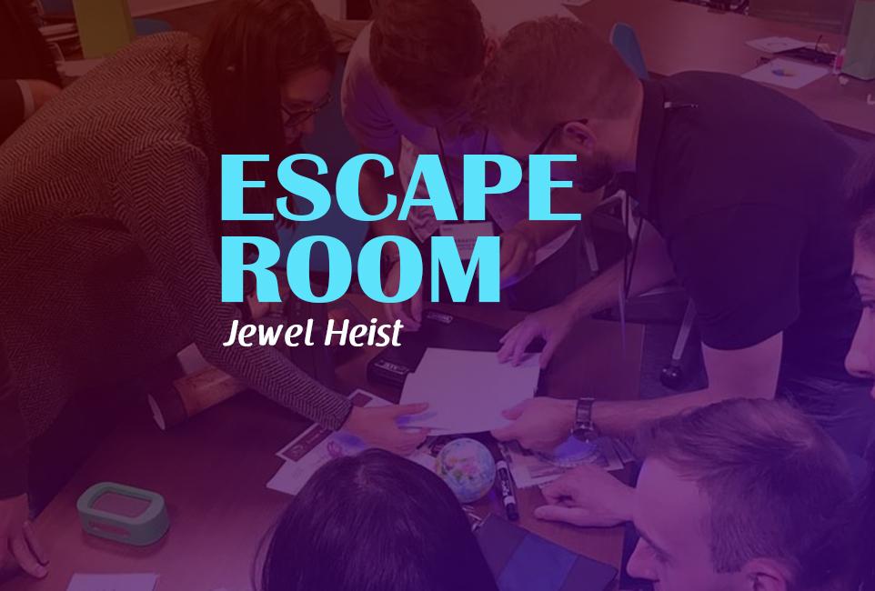 Mobile Escape Room: Jewel Heist logo