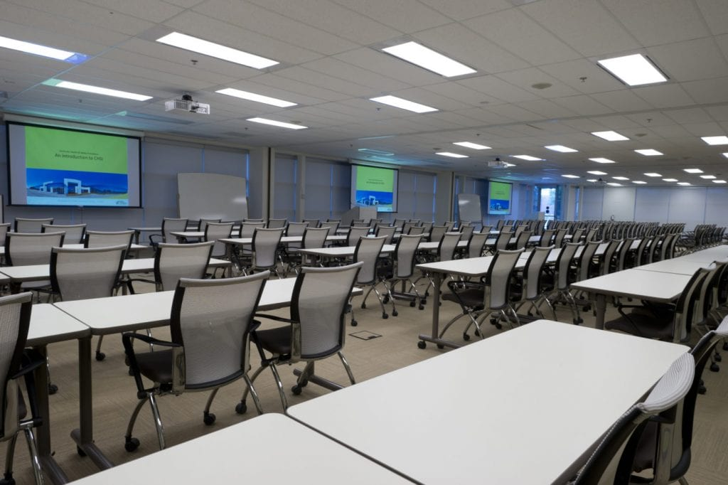 Mississauga Corporate Events & Meetings Centre Conference Classroom
