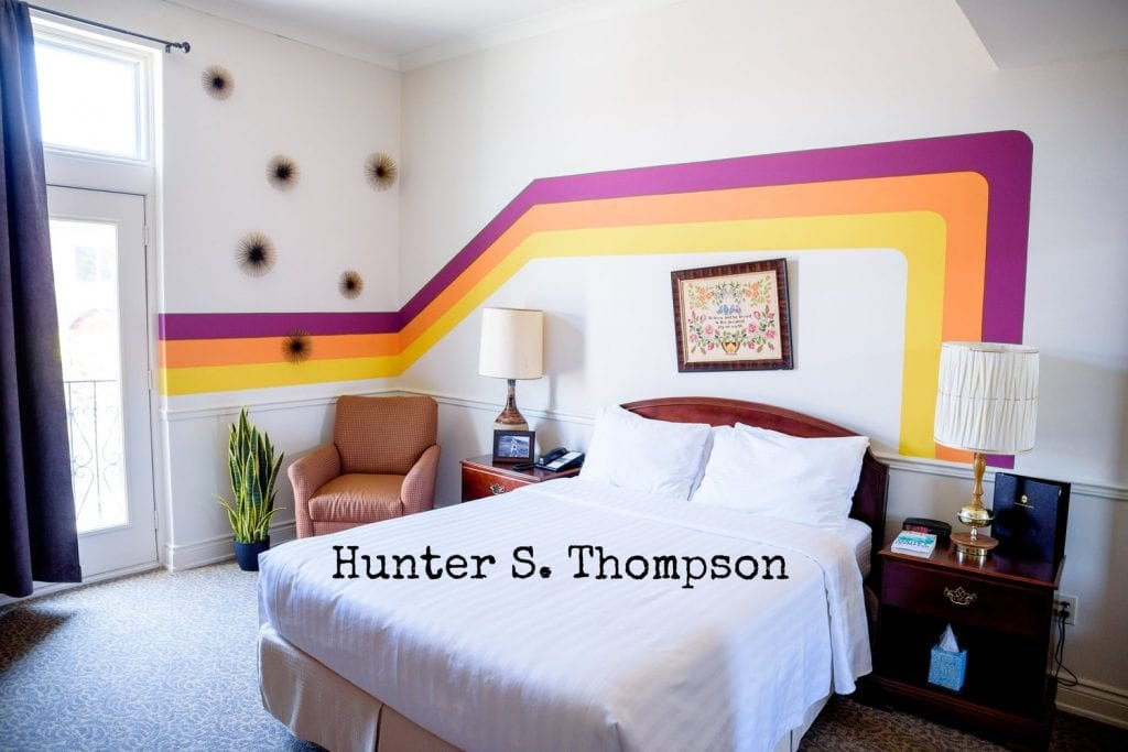 Arlington Hotel - Hunter S. Thompson