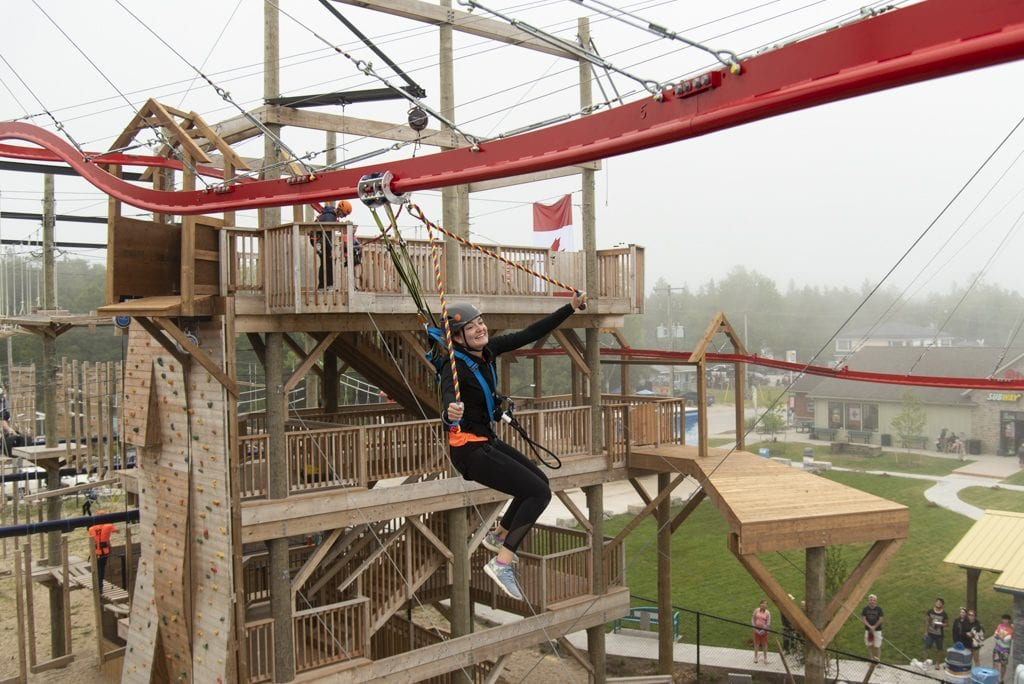Zip Line - Ascent Aerial Park | Adventure Park Overlooking Sauble Beach