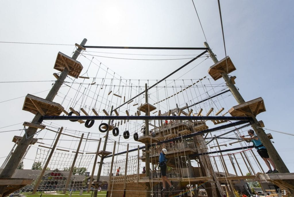 Ascent Aerial Park | Adventure Park Overlooking Sauble Beach Ropes Course