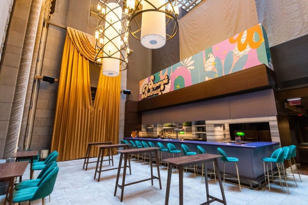 Supernova Ballroom Toronto, Ontario | Disco-Inspired Cocktail Bar For Up To 250 People