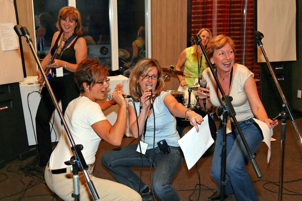 Rock The Stars | Music-Based Team Building & Interactive Entertainment
